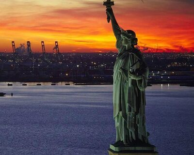 Statue of Liberty - Europeans in New York