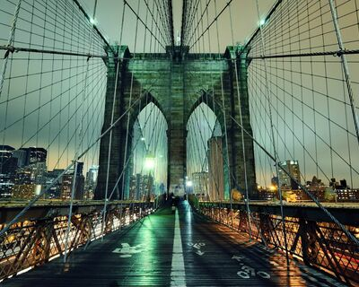 Brooklyn bridge - Séjour linguistique New York