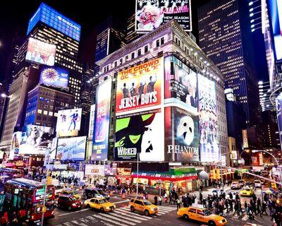 Times Square - Españoles en Nueva York