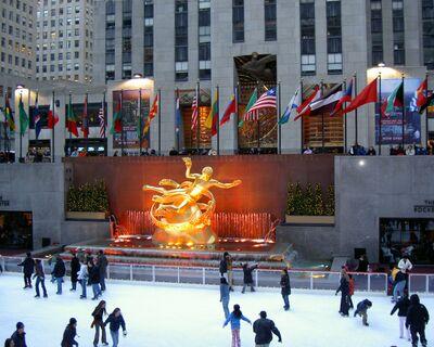 Rockefeller center - Españoles en Nueva York